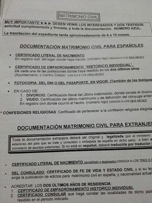 Trámite registro civil - 1