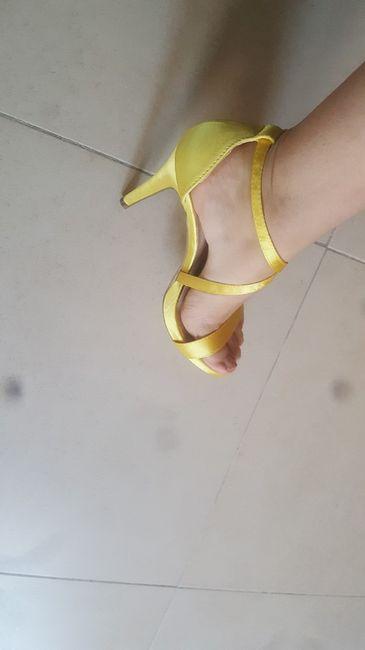 Color amarillo para las bodas 2