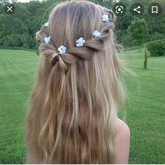 Peinado niñas de Arras - 1