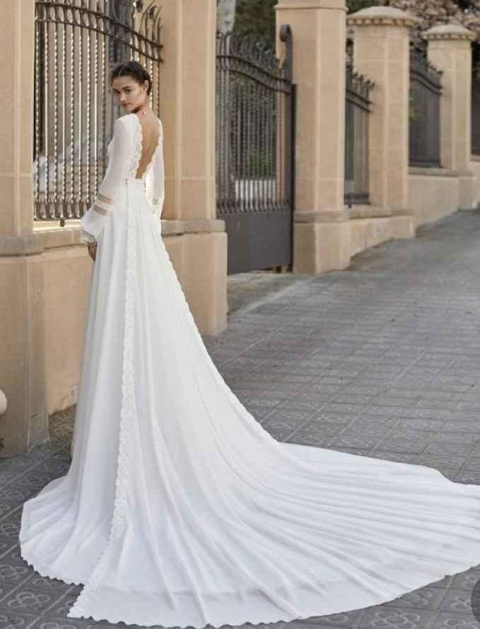 Vestido de novia: lluvia de ideas - 5