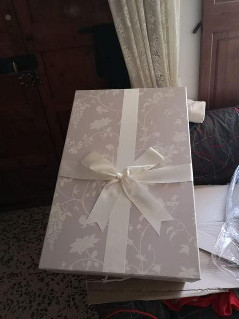 mi caja para guardar el vestido!!!! - antes de la boda - foro bodas