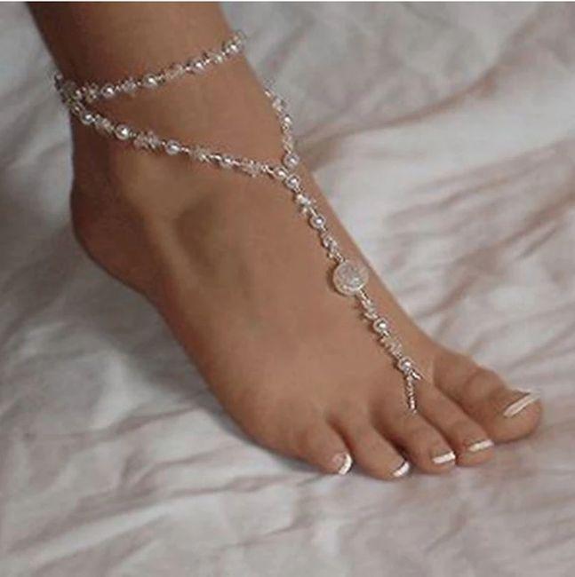 Sandalias descalzas!! Para cuando me esté preparando el gran día 😍 4