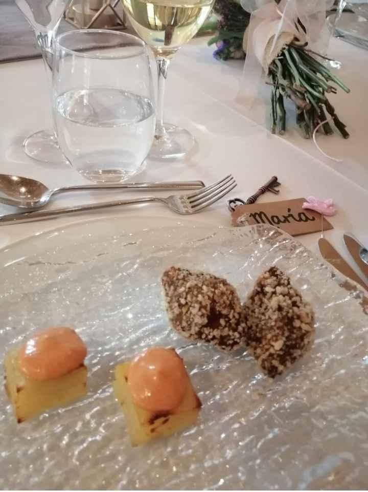 ¿Los novios no comen en su boda? - 1