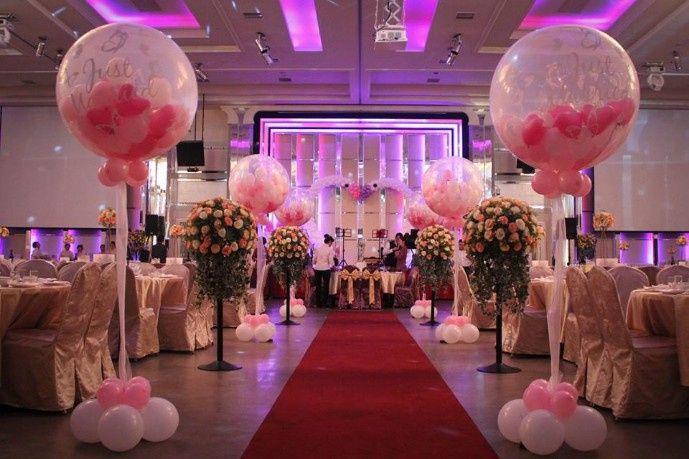 decoracion con globos para bodas manualidades foro. Black Bedroom Furniture Sets. Home Design Ideas