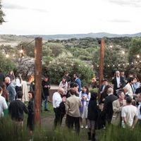 Invitados y paisaje