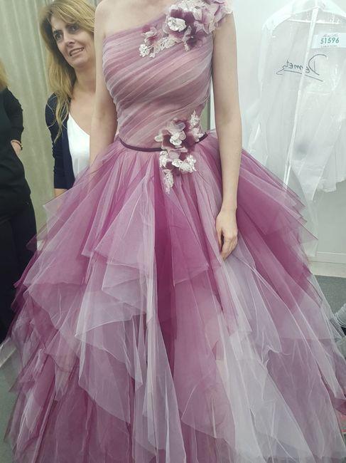 Vestidos de novia a todo color!! 9