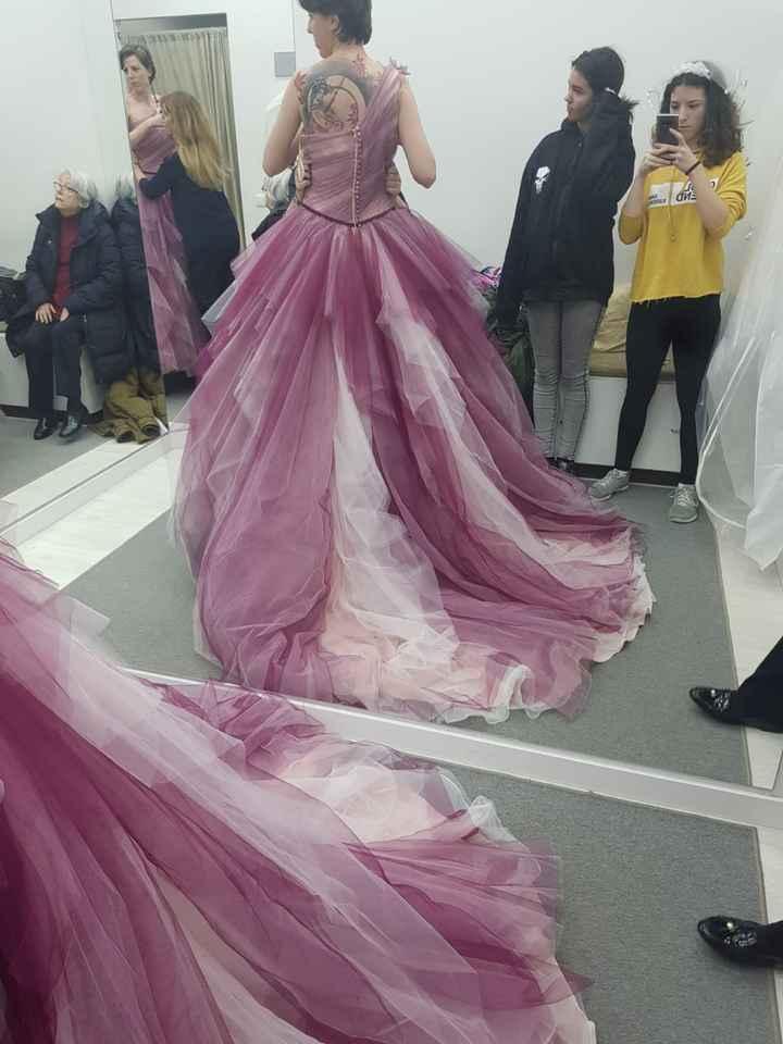 vestido de novia en color - 3