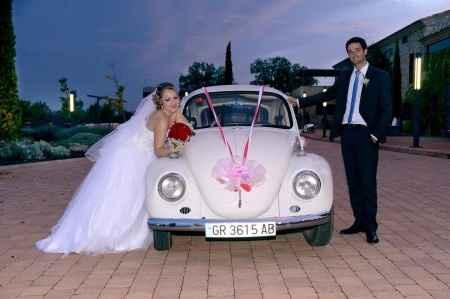 Mi coche de boda