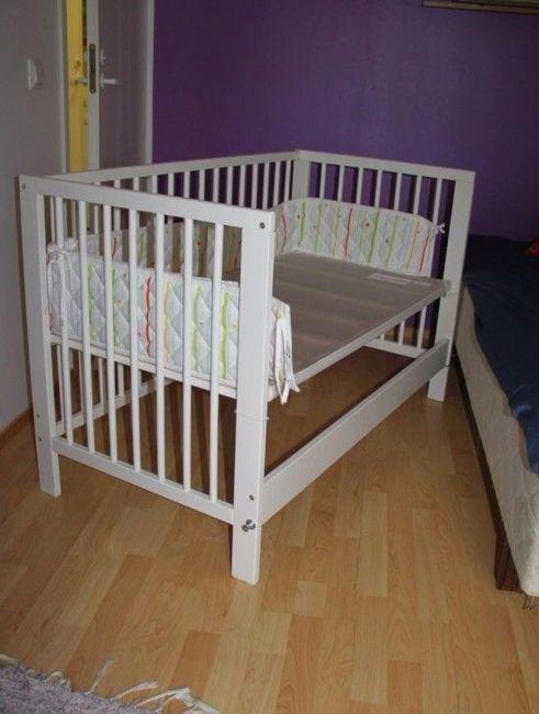 co-sleeper crib