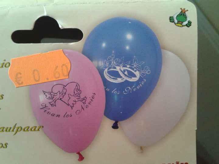 globos con mencion novios
