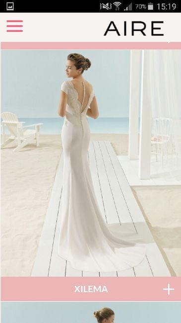 precio vestidos aire barcelona - moda nupcial - foro bodas