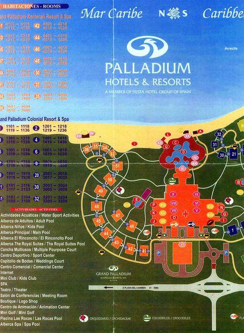 Riviera maya. grupo palladium kantenah - 1