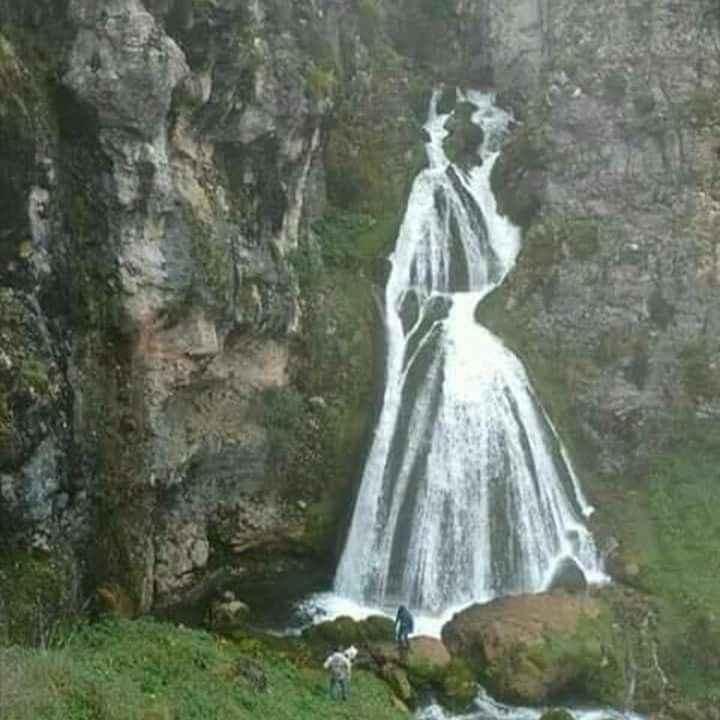 Catarata del velo de la novia, en Perú - 2