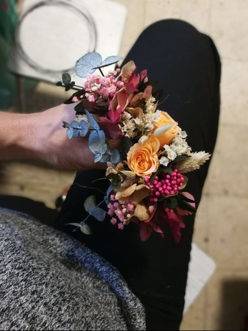 Tocados flores naturales - 1