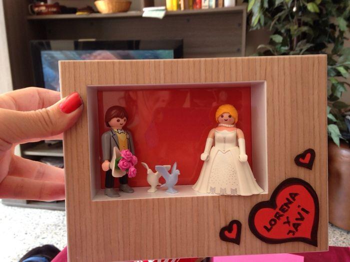 Ayuda con cuadros de playmobil para los futuros novios - Soporte cuadros ikea ...