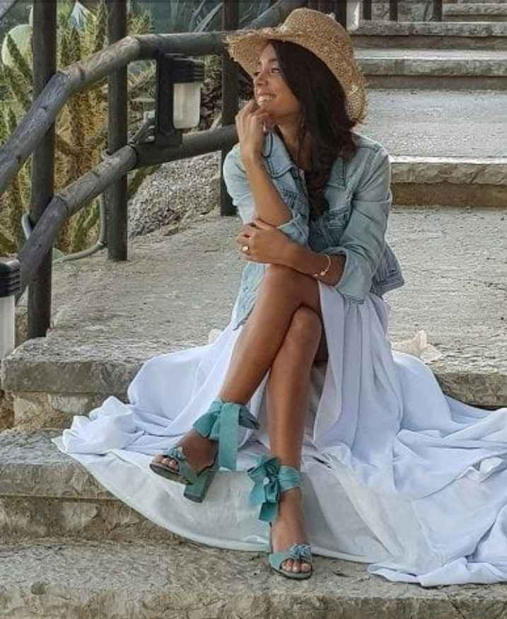 Zapatos de novia de colores - 2