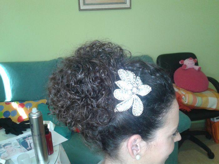 Mi peinado para Ceremonia