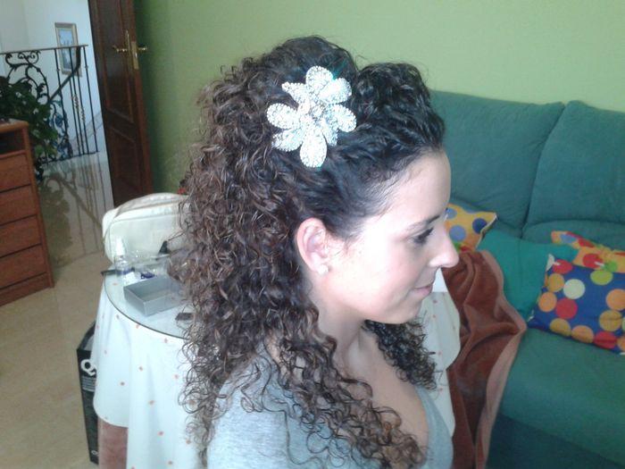 Mi peinado para el Baile