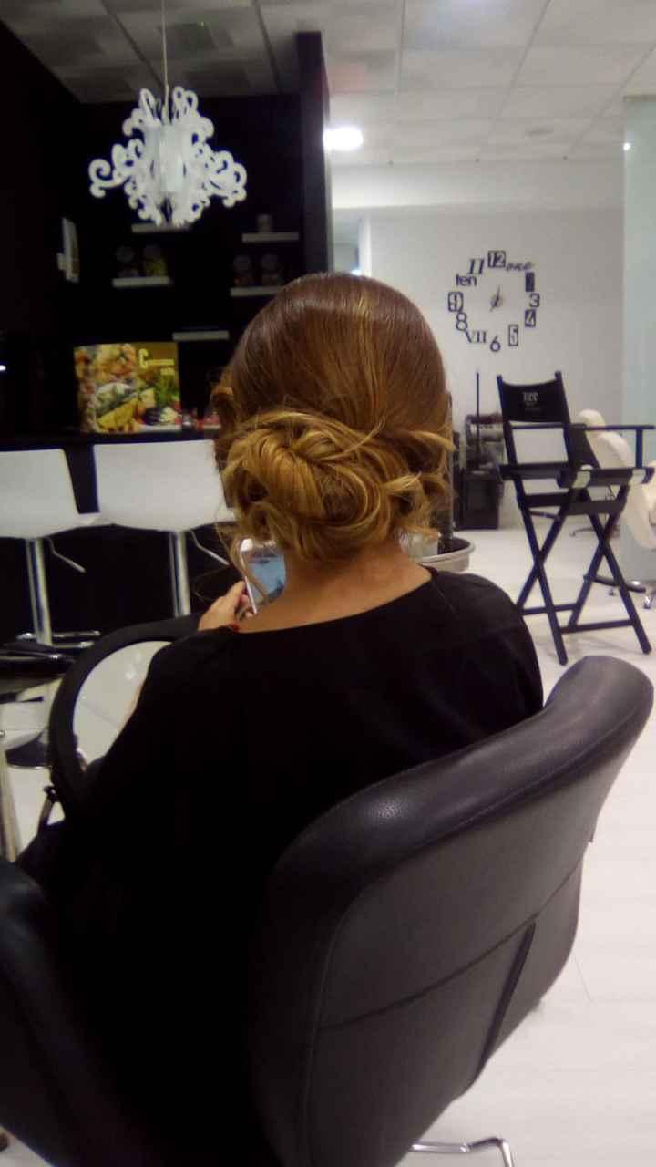 Prueba peinado 💇🏼♀️💁🏼♀️ - 1