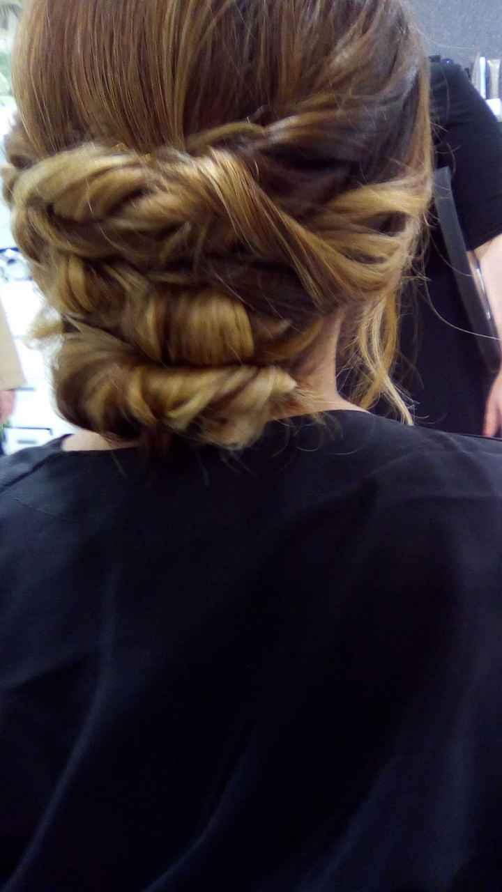 Prueba peinado 💇🏼♀️💁🏼♀️ - 3