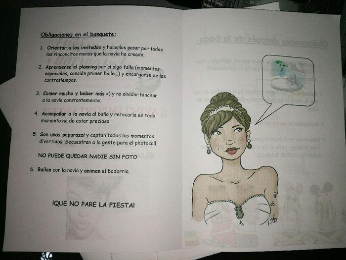 Damas: instrucciones y kit s.o.s - 5