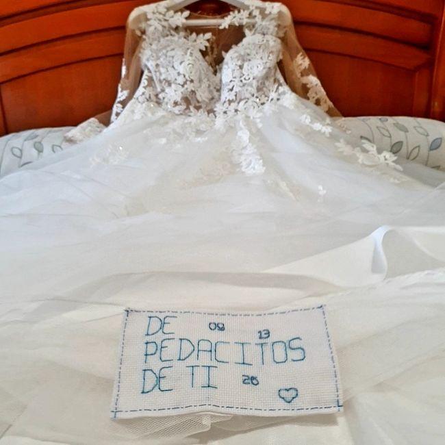 Bordado en el vestido? 2