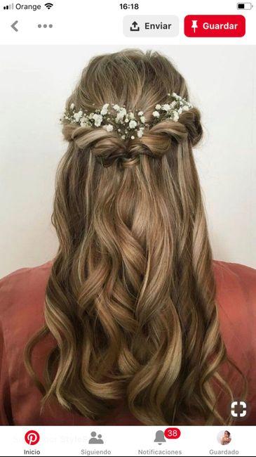 úLtima prueba de maquillaje y peinado y penúltima de vestido 🙌🏼 - 1
