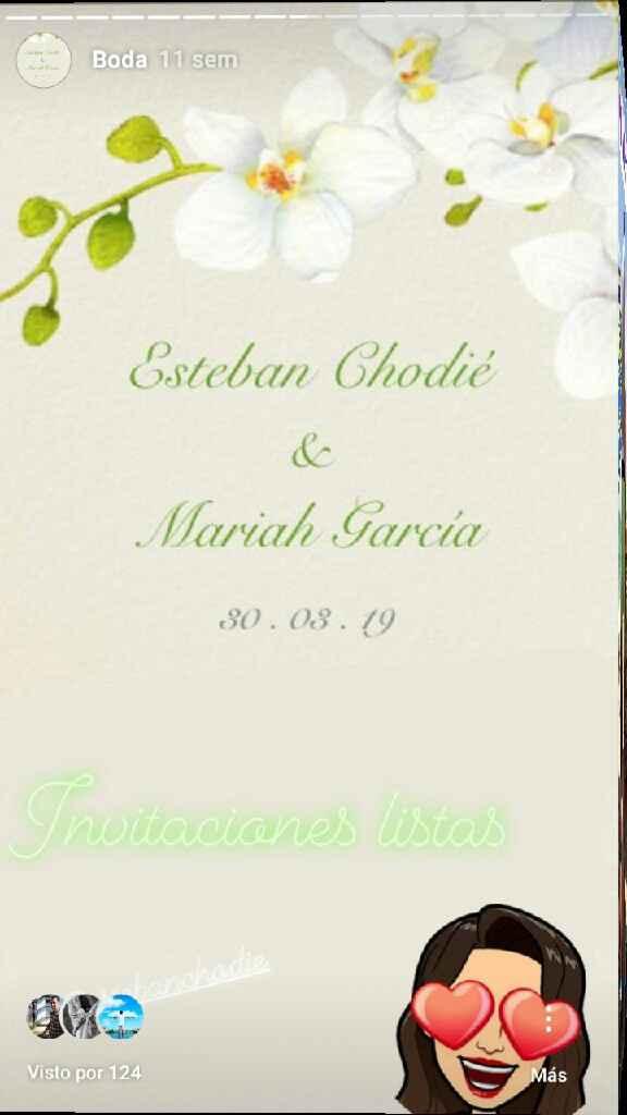 Enviar las invitaciones por email / whatsapp desde web boda - 1