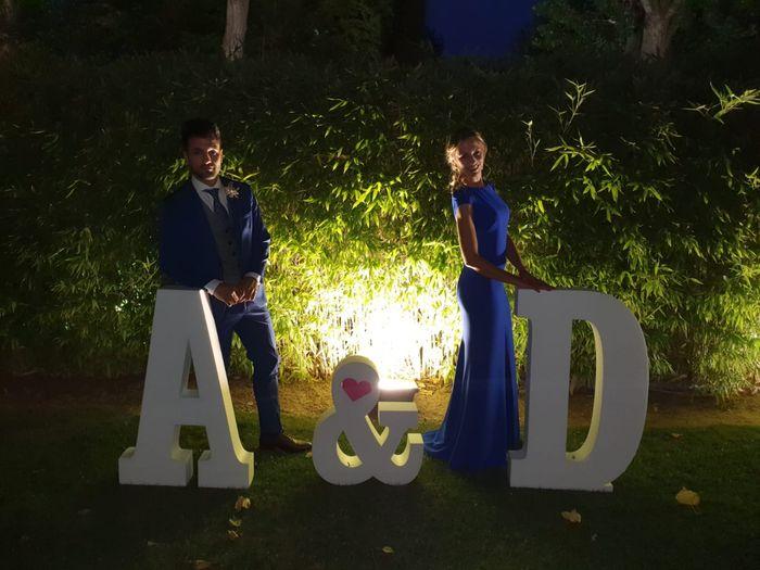 Letras Gigantes para bodas 4
