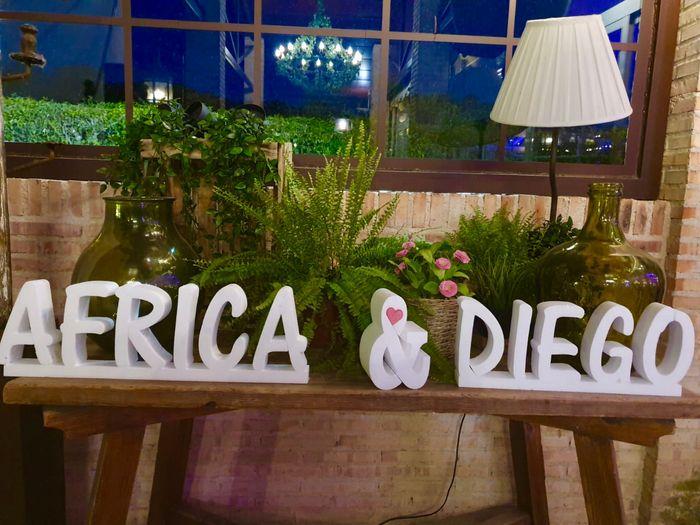 Letras Gigantes para bodas 5