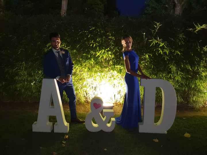 Letras Gigantes para bodas - 1