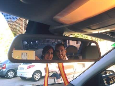 selfie coche