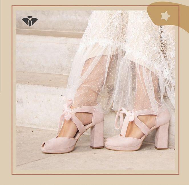 Que tipo de zapatos os vais a poner el día de vuestra Boda? 8