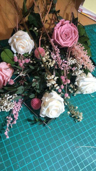 Flores del ramo. 1