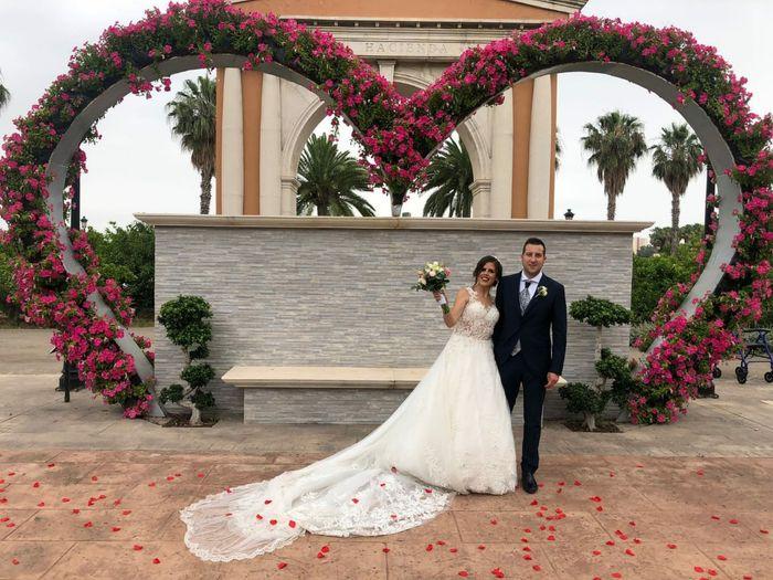 Por fin nos pudimos casar! y fue el día más feliz de mi vida! 2