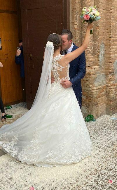 Por fin nos pudimos casar! y fue el día más feliz de mi vida! 3