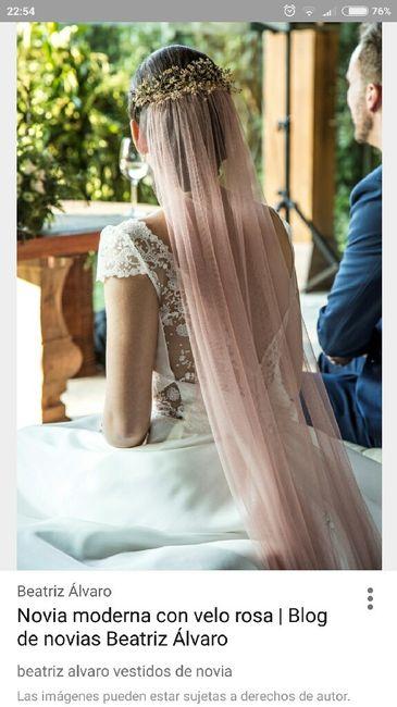 Vestidos novia rosa pastel