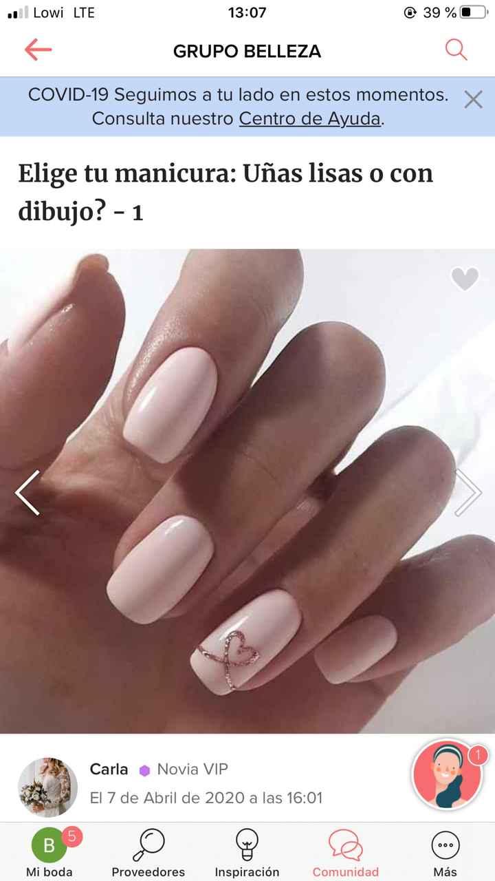 Indecisión uñas - 1