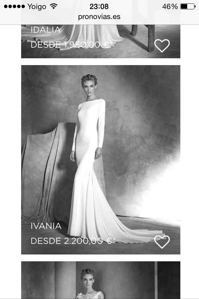 Vestidos de novia 2016 - 1
