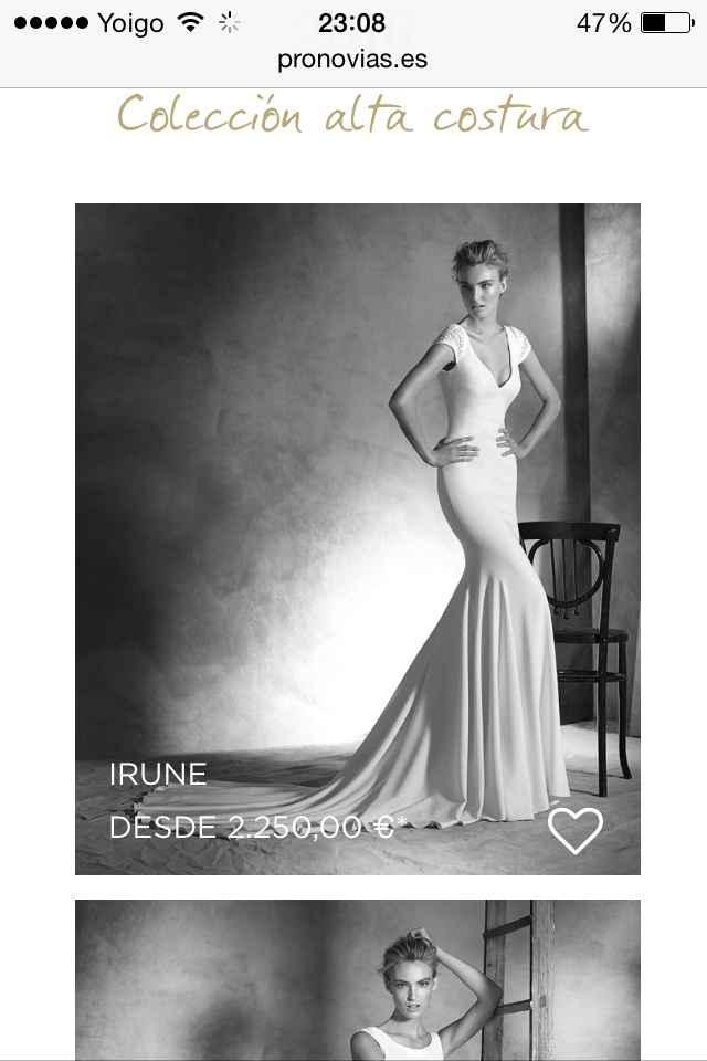 Vestidos de novia 2016 - 2