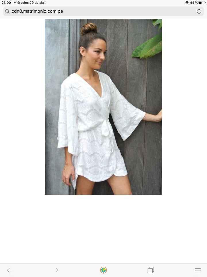 Bata y pijama preboda🥰 - 1