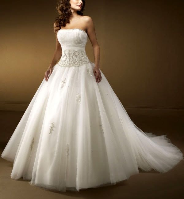 Vestido novia delante