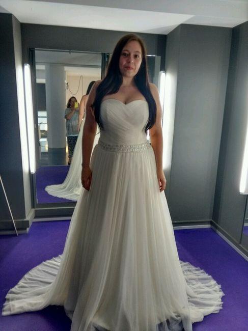 Vestidos de novia que disimulan kilos