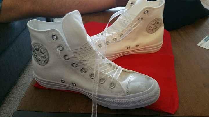 Zapatillas converse novia - 1