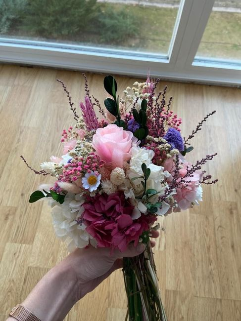 Mi jardín en tus manos!! Ramo de novia y otros 3