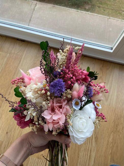 Mi jardín en tus manos!! Ramo de novia y otros 4