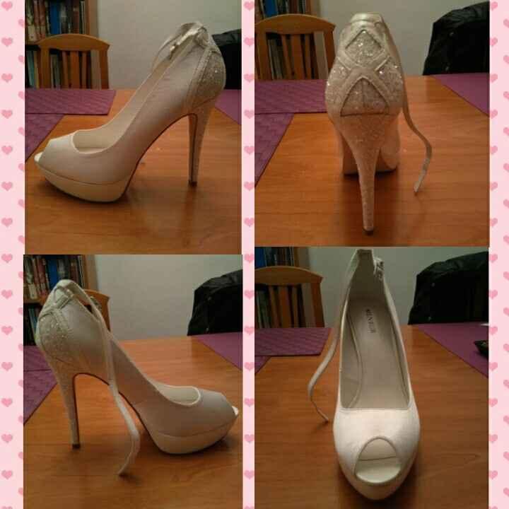 Mis zapatos, por fin!! - 1