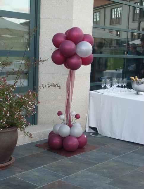 Bouquetes globos