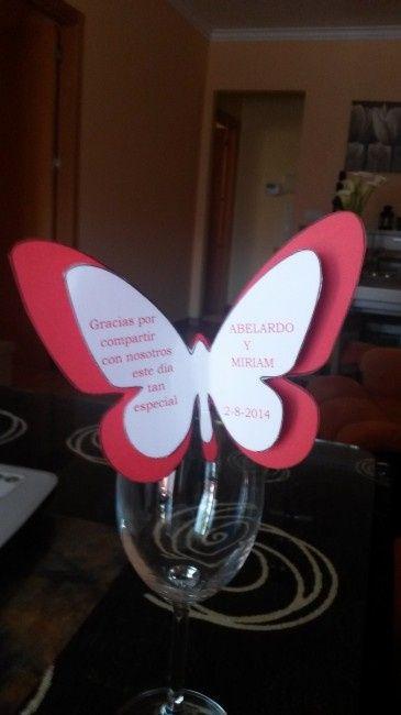 Mis mariposas de agradecimiento y los pai pai - 1