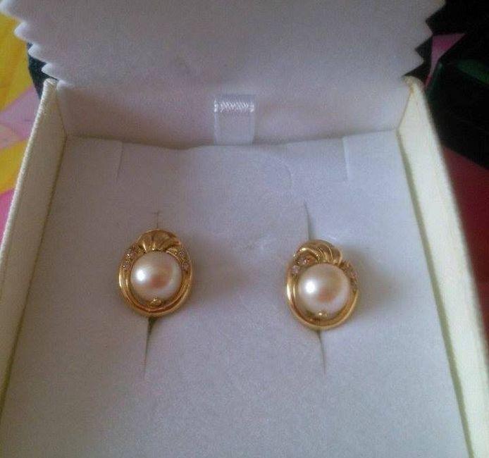 7d79895a4066 Pendientes de oro amarillo para novia  - Antes de la boda - Foro ...